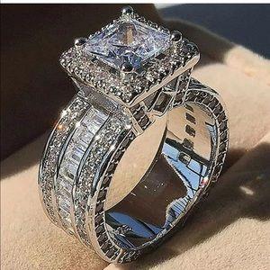 Big rock engagement bridal ring